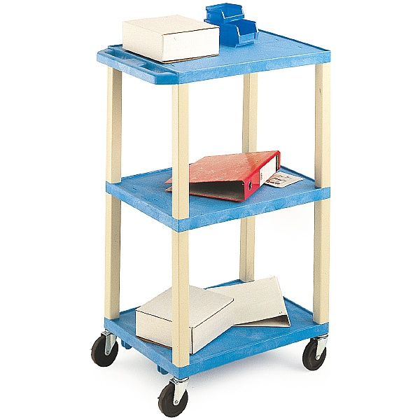 3 Shelf Plastic Trolley