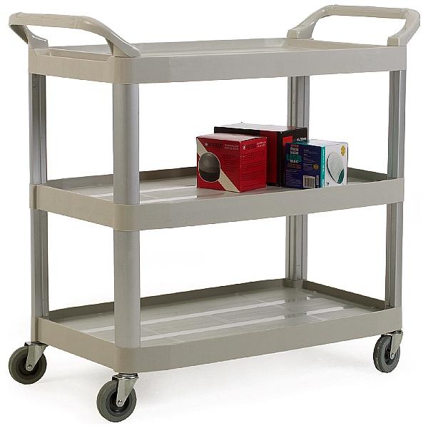Large 3 Shelf Service Trolley