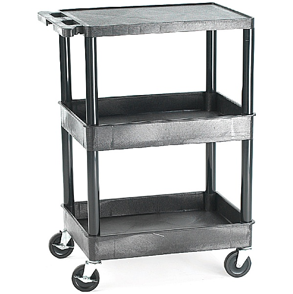 Super Strong 3 Shelf Service Trolley