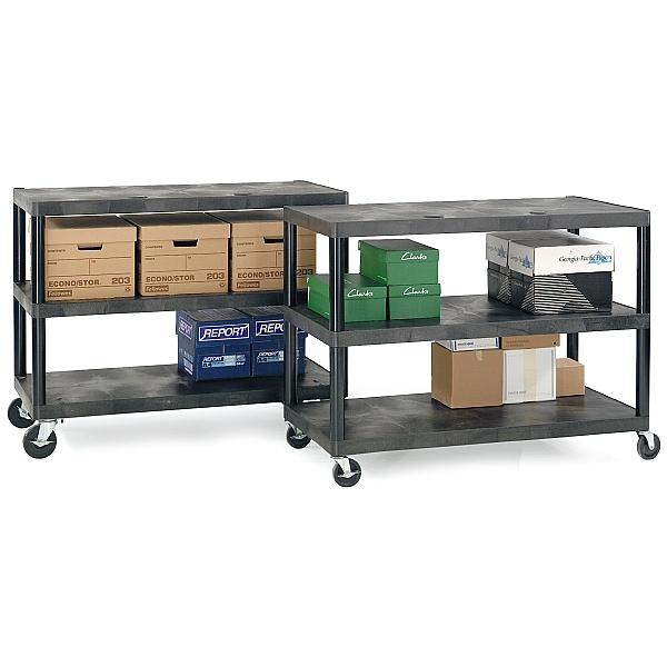 Long Shelf Service Trolleys