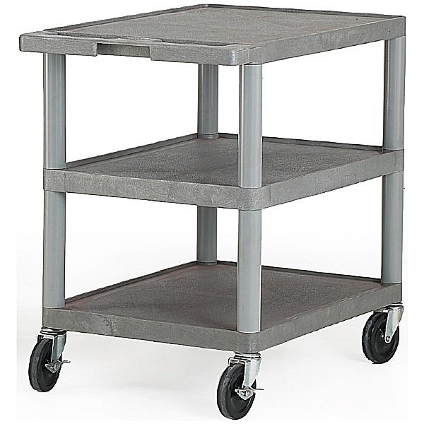 3 Shelf Grey Trolley