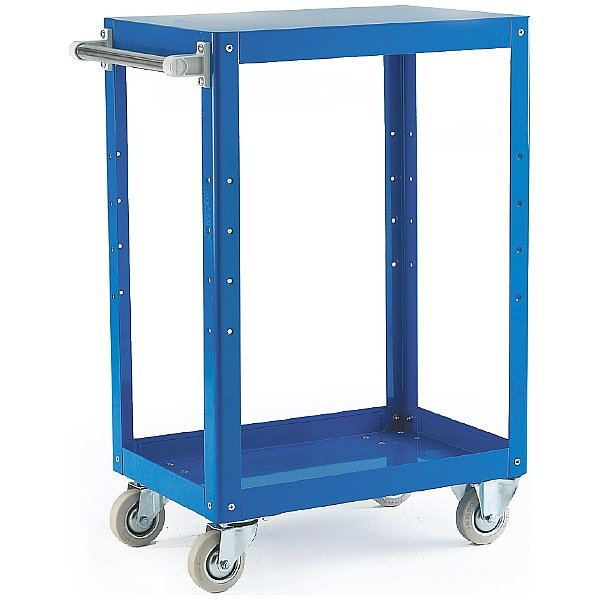 2 Shelf Reversible Tray / Shelf Trolleys