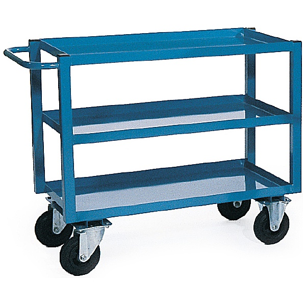 3 Shelf Heavy Duty Tray Trolleys
