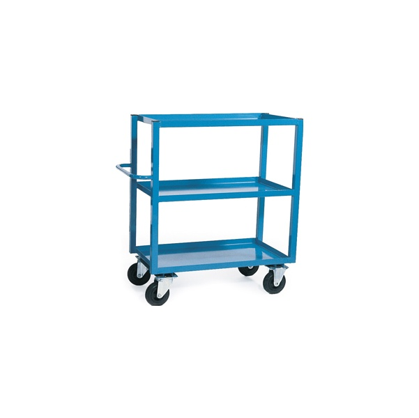 3 Shelf Heavy Duty Tray Trolleys