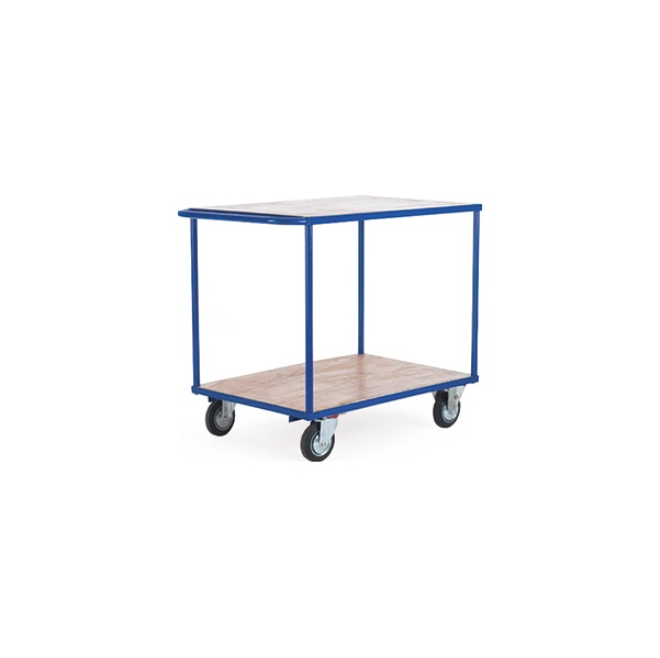 High Capacity 2 Shelf Budget Trolley