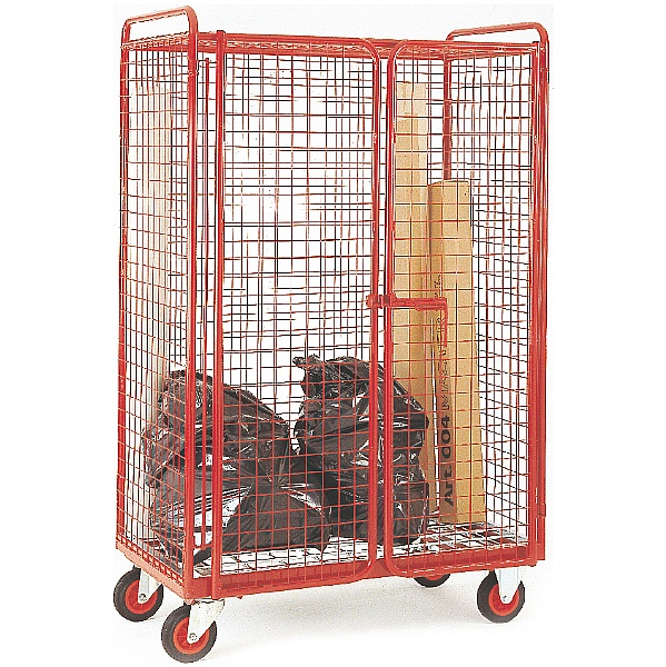 Narrow Aisle Distribution Trucks - 4 Sided Security Mesh