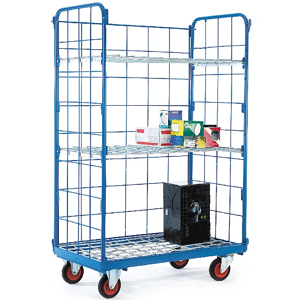 Narrow Aisle Distribution Trucks - 3 Sided