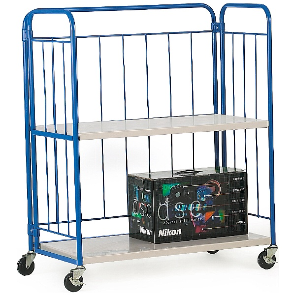 2 Shelf Folding Distribution Truck