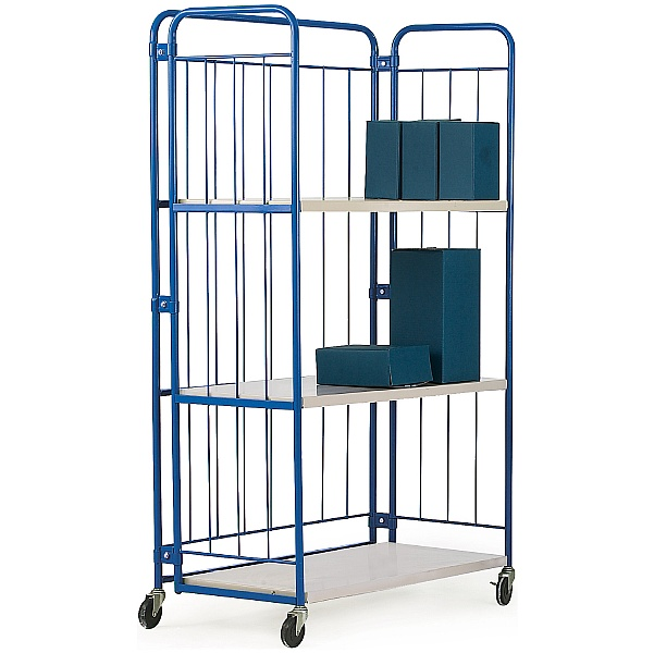 3 Shelf Folding Distribution Truck