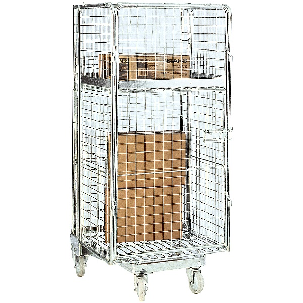 Security Mesh 'A' Type Nestable Rolcontainers