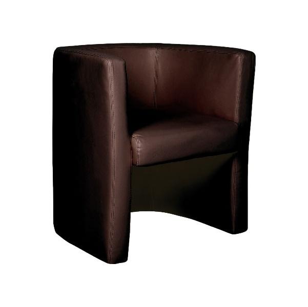 Layla Tub Chair Brown
