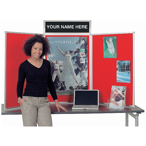 Busyfold Heavy Duty Tabletop Folding Display Systems