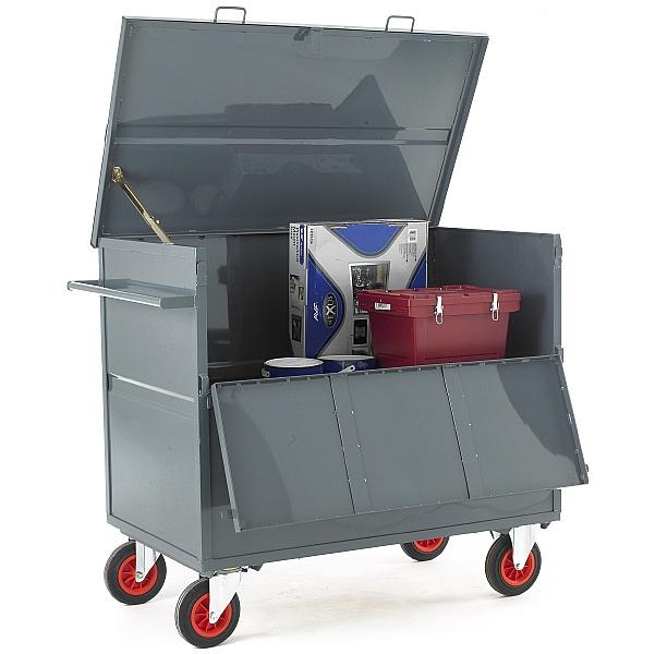 Steel Security Box Trolley