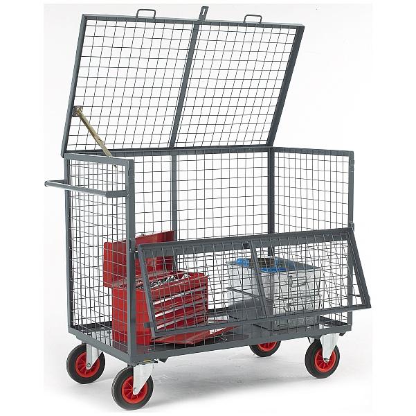 Mesh Security Box Trolley