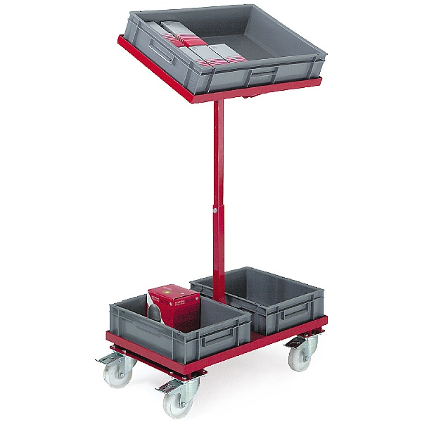 Two Tier Order Picking Trolley