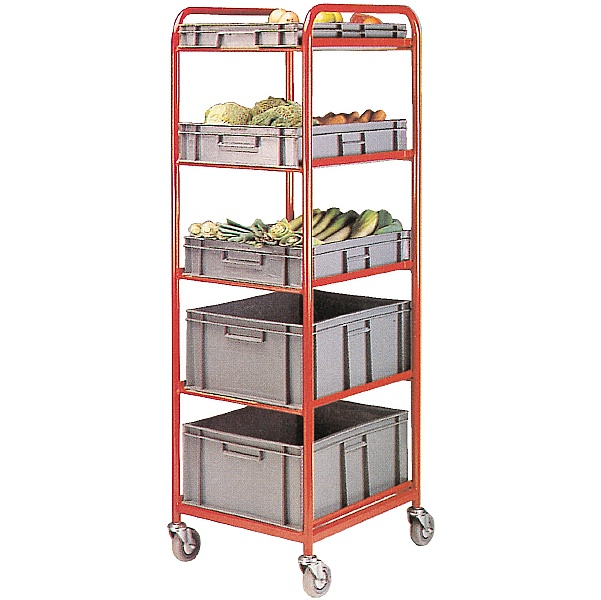 5 Tier Container Trolley