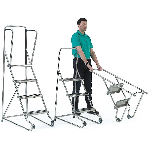 Stainless Steel Tilt and Pull Steps