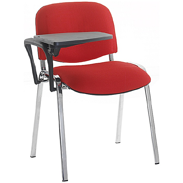 Swift Chrome Frame Conference Chair With Tablet