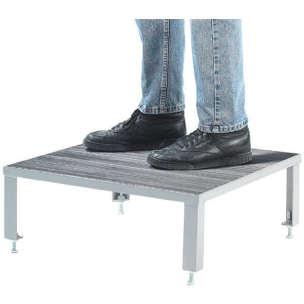 Fort Rubber Top Adjustable Steel Work Platforms
