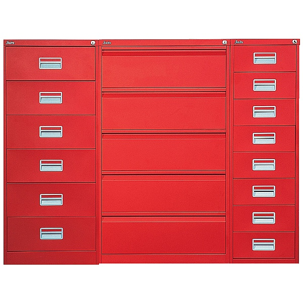 Silverline Media & Card Index Filing Cabinets