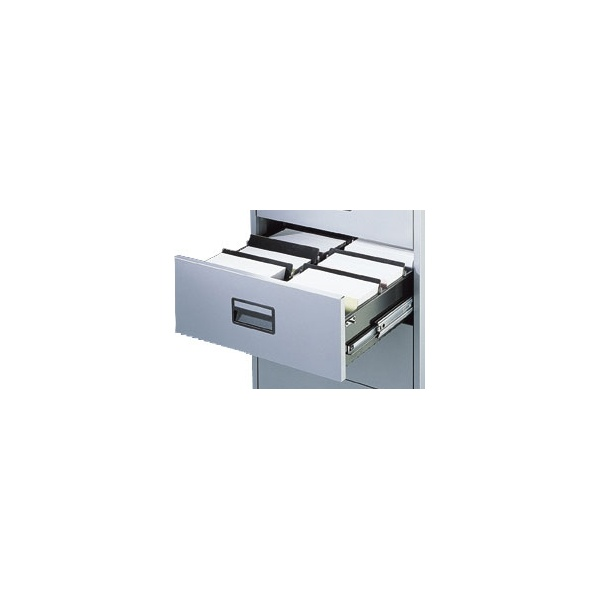 Silverline Media & Card Index Filing Cabinets Dividers (5Pk)