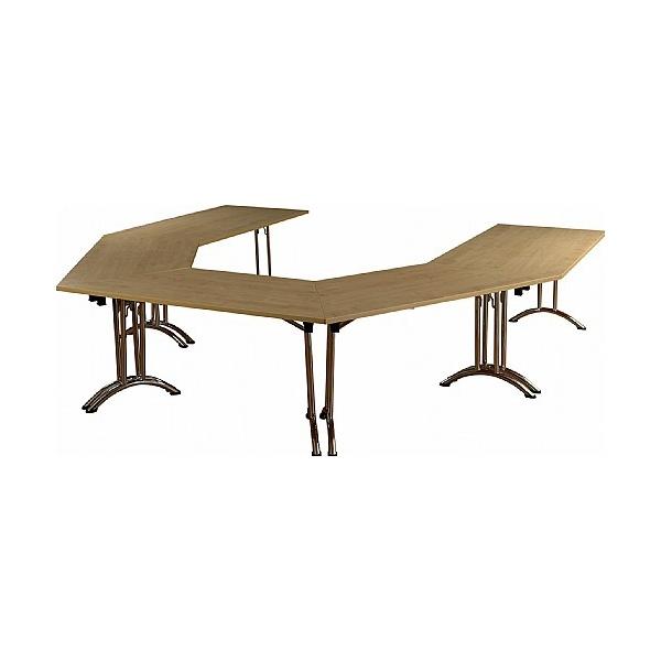 NEXT DAY Solar Trapezoidal Folding Tables