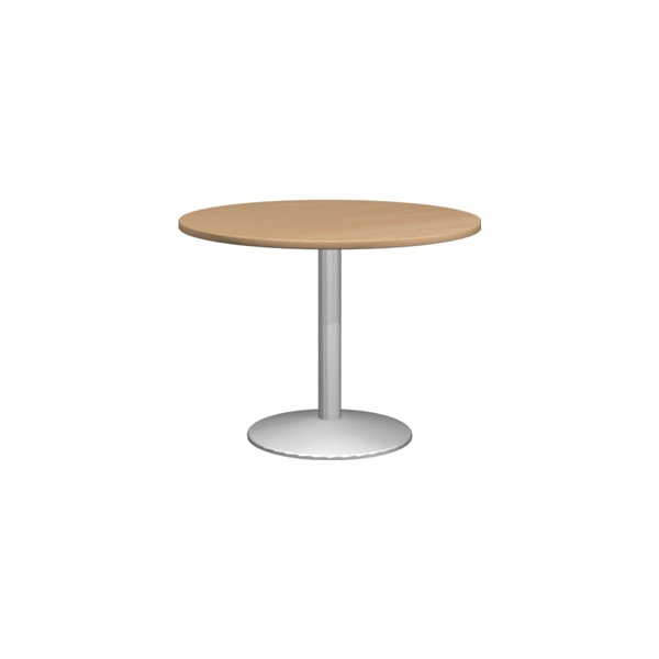 NEXT DAY Solar Deluxe Round Meeting Tables