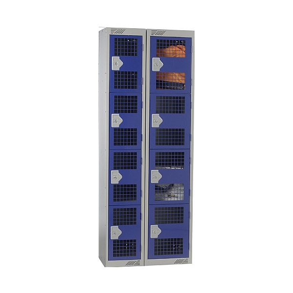 Punched Door Lockers With BioCote