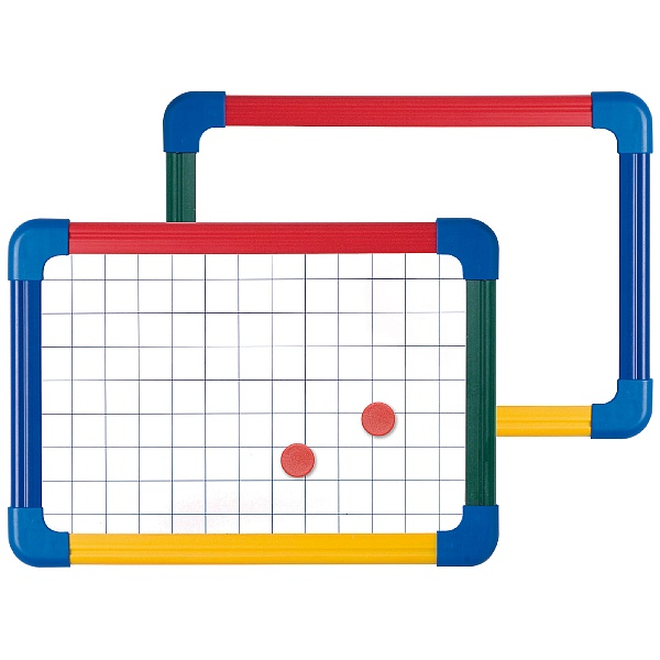 Double Sided Student Whiteboard Plain/Gridded (Pack of 5 or 10)