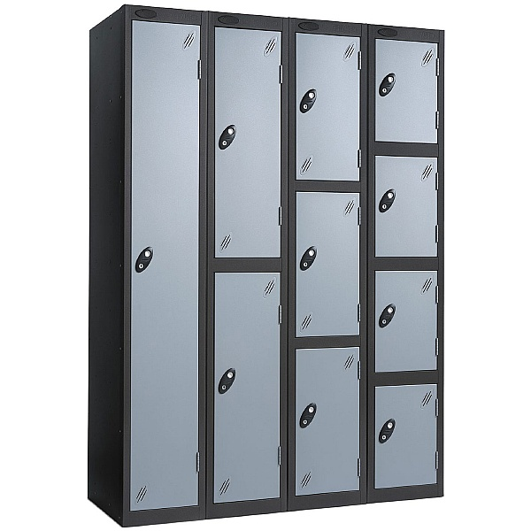 Black Carcass Premium Lockers With ActiveCoat