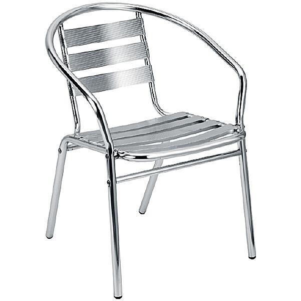 Crowne Aluminium Bistro Chair