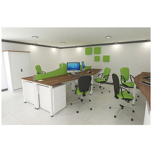 Presence Rectangular Desks
