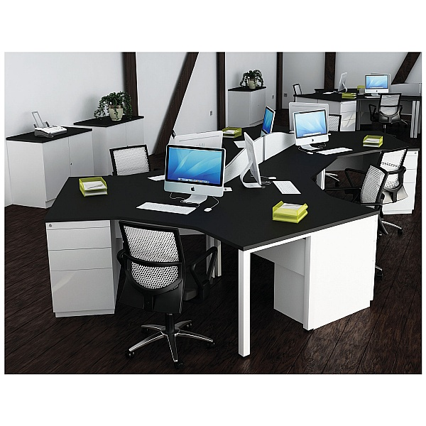 Presence Cluster Combination Desks