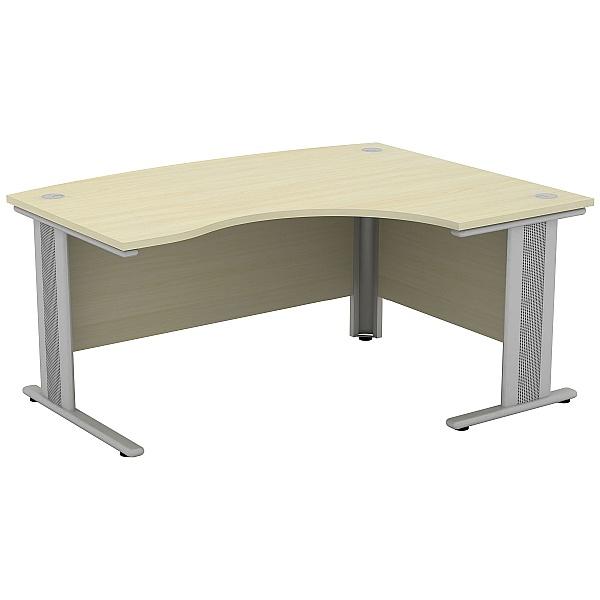 Accolade Bow Fronted Ergonomic Desks