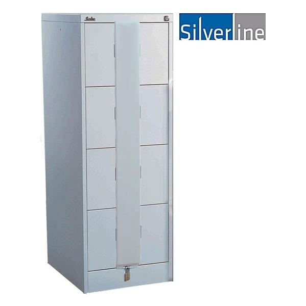 Silverline Secure Midi Filing Cabinets