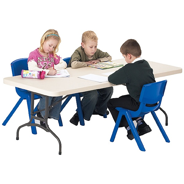 Blow Moulded Height Adjustable Folding Tables
