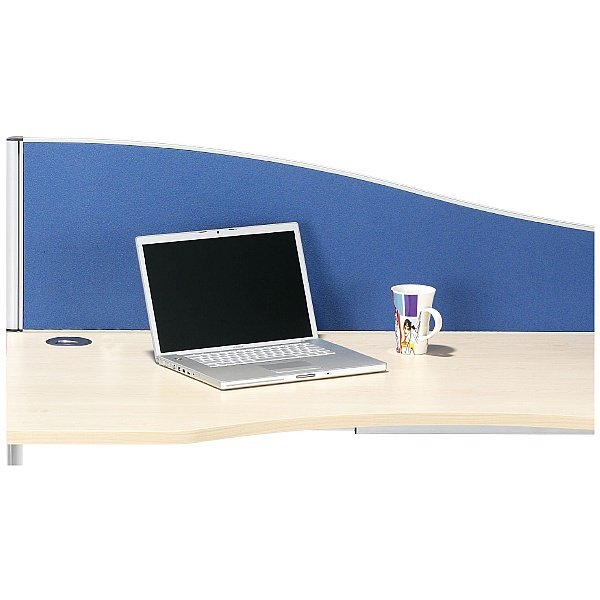 Accolade Executive Wave Desk Screens