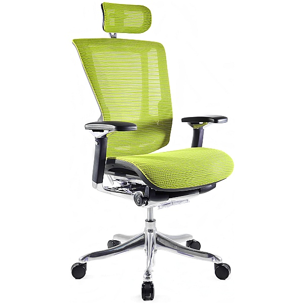 Nefil Ergonomic Mesh Office Chair (With Headrest)