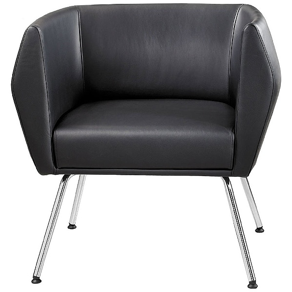 Premium HB1 4 Leg Leather Reception Chairs