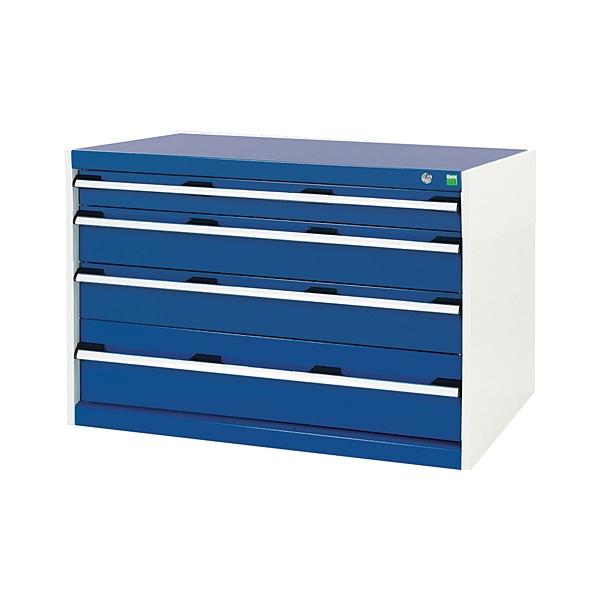 Bott Cubio Drawer Cabinets - 1050mm Wide x 700mm High - Model A