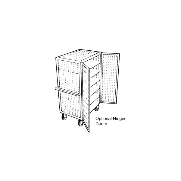 Mesh Superstructure Shelf Truck