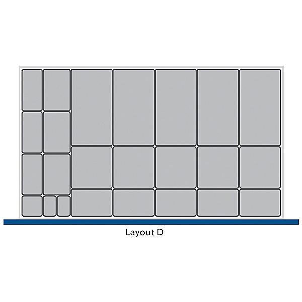 Bott Cubio Drawer Cabinets 1050W x 650D Plastic Boxes