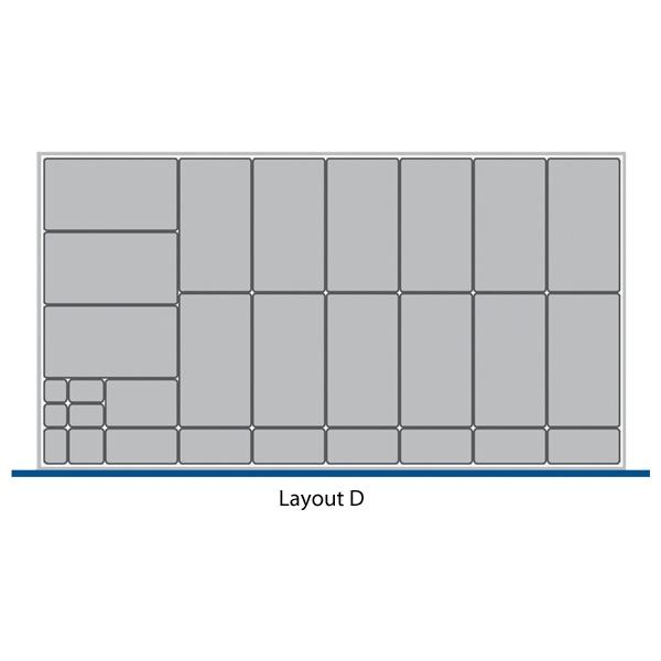 Bott Cubio Drawer Cabinets 1300W x 750D Plastic Boxes