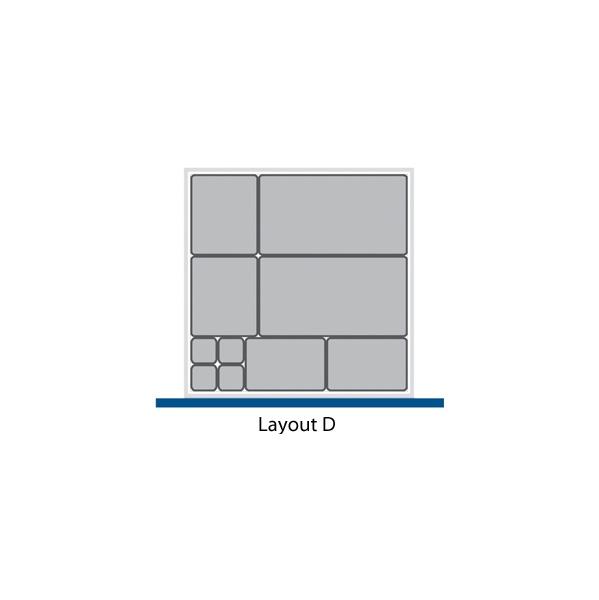 Bott Cubio Drawer Cabinets 525W x 525D Plastic Boxes