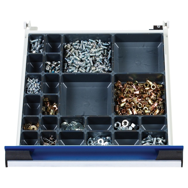 Bott Cubio Drawer Cabinets 525W x 650D Plastic Boxes