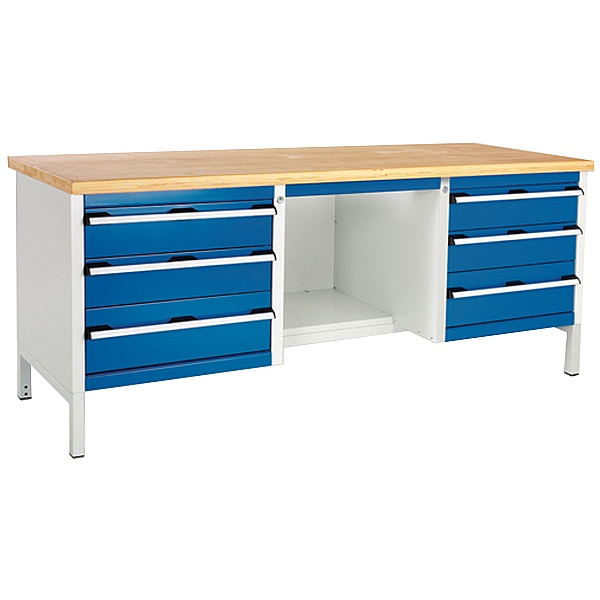Bott Cubio Storage Benches - 2000mm Wide - Model R