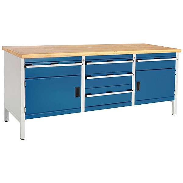 Bott Cubio Storage Benches - 2000mm Wide - Model T