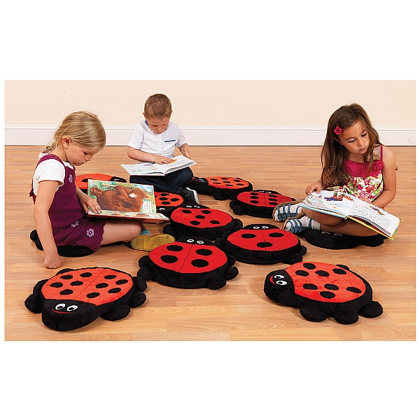 Counting Ladybird Story Cushions