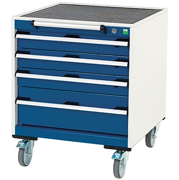Bott Cubio Mobile Drawer Cabinets - 650mm Wide x 7