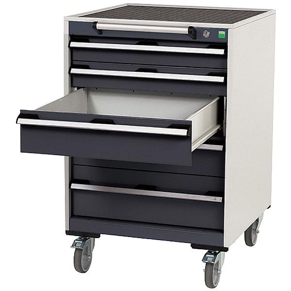 Bott Cubio Mobile Drawer Cabinets - 650mm Wide x 980mm High - Model D